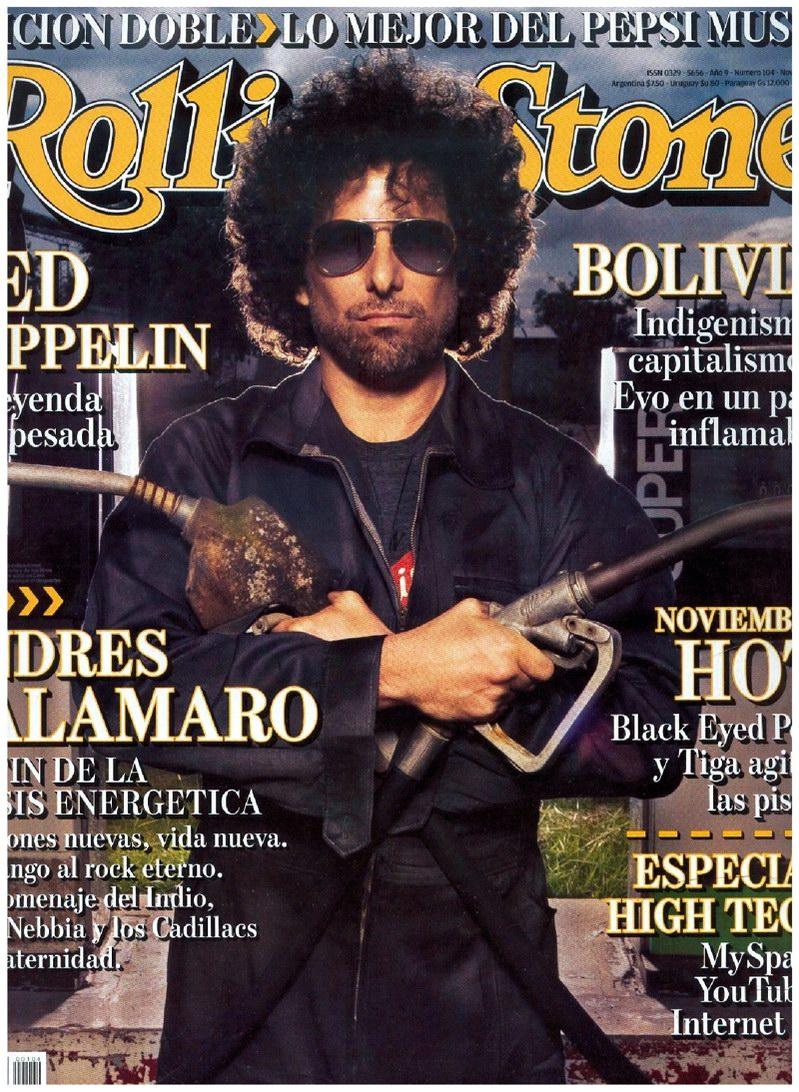 Calamaro Rolling Stone 2006