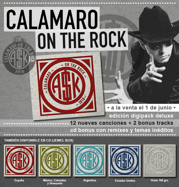 calamaro on the rock